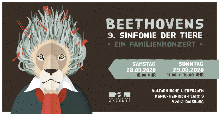 Beethovens 9. Sinfonie der Tiere – Ein Familienkonzert